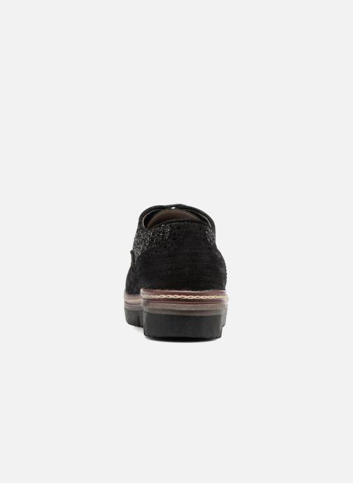 Zapatos con cordones I Love Shoes THELI Negro vista lateral derecha
