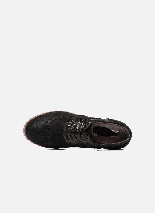 Zapatos con cordones I Love Shoes THELI Negro vista lateral izquierda
