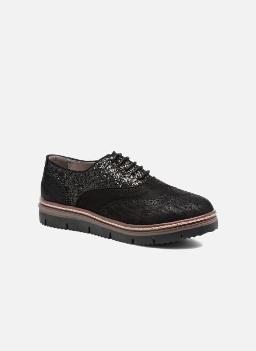Veterschoenen I Love Shoes THELI Zwart detail