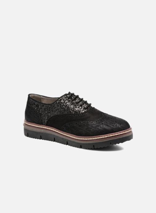 Chaussures à lacets I Love Shoes THELI Noir vue détail/paire