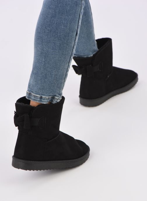 Botines  I Love Shoes THOUCHAUD Negro vista de abajo