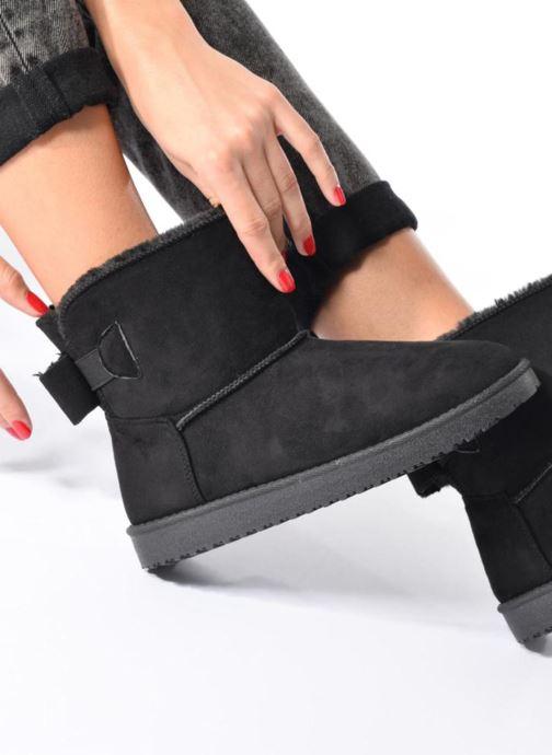 Bottines et boots I Love Shoes THOUCHAUD Marron vue bas / vue portée sac
