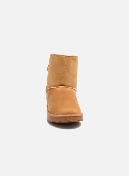 Bottines et boots I Love Shoes THOUCHAUD Marron vue portées chaussures
