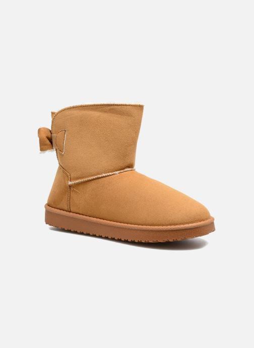 Bottines et boots I Love Shoes THOUCHAUD Marron vue détail/paire