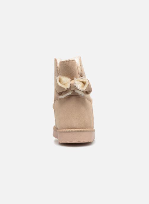 Botines  I Love Shoes THOUCHAUD Beige vista lateral derecha