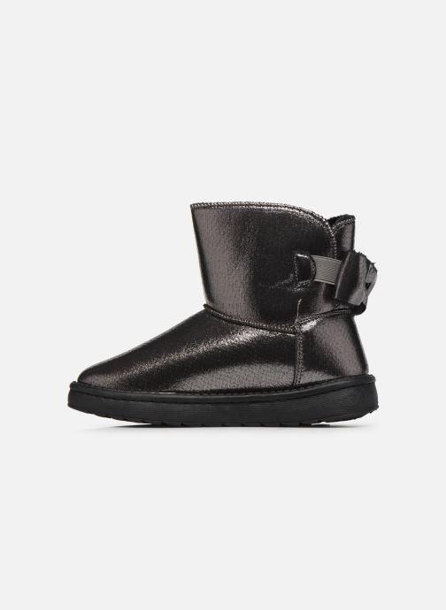 Botines  I Love Shoes THOUCHAUD Plateado vista de frente