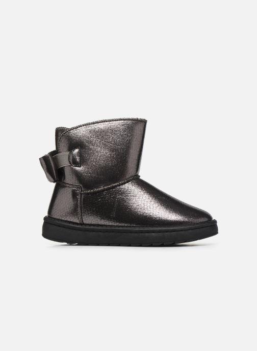 Botines  I Love Shoes THOUCHAUD Plateado vistra trasera