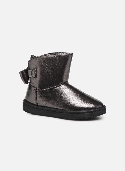 Ankle boots I Love Shoes THOUCHAUD Silver detailed view/ Pair view