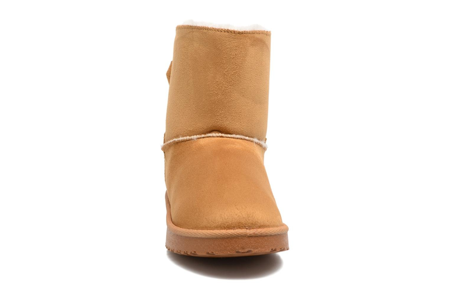 Ankle boots I Love Shoes THOUCHAUD Brown model view