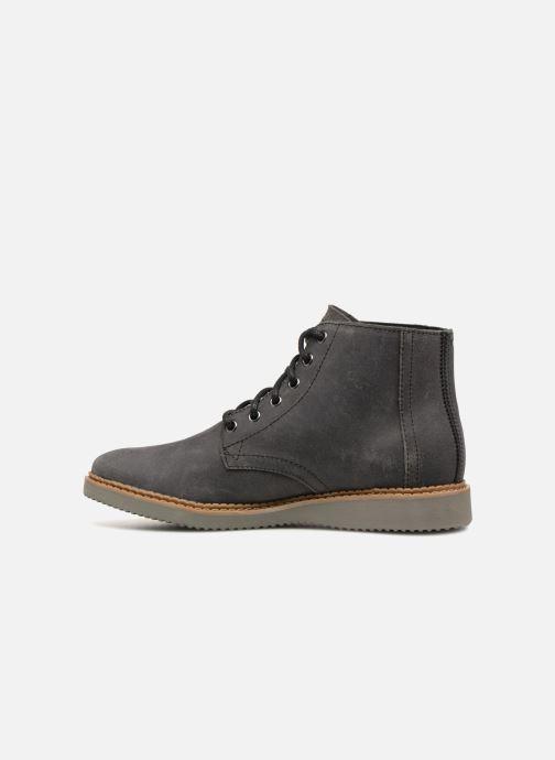 Bottines et boots TOMS Porter Noir vue face