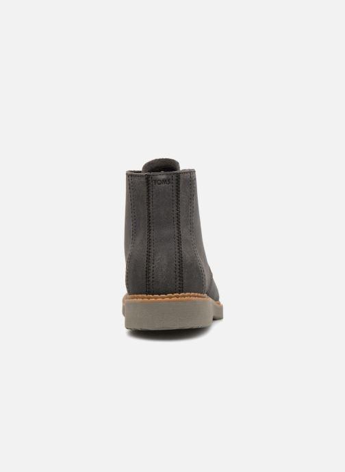 Bottines et boots TOMS Porter Noir vue droite