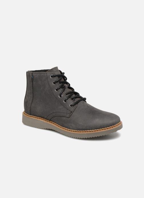 Bottines et boots TOMS Porter Noir vue détail/paire