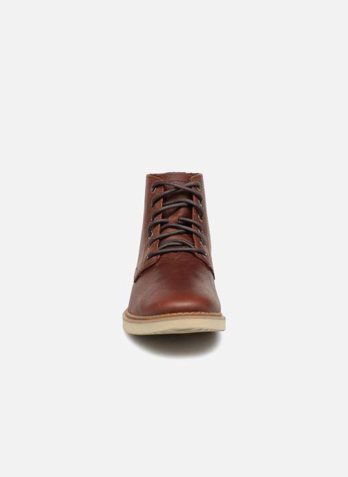 Bottines et boots TOMS Porter Marron vue portées chaussures