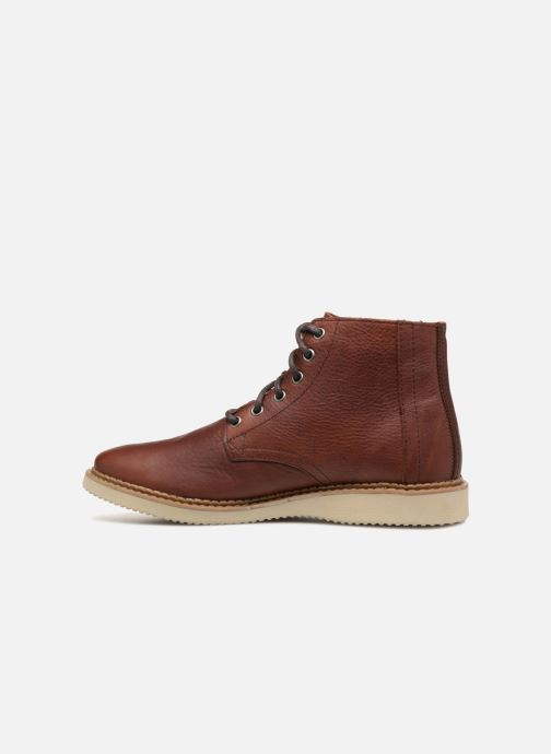 Bottines et boots TOMS Porter Marron vue face
