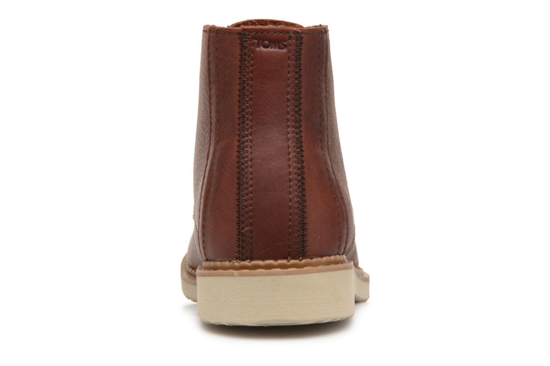 Bottines et boots TOMS Porter Marron vue droite