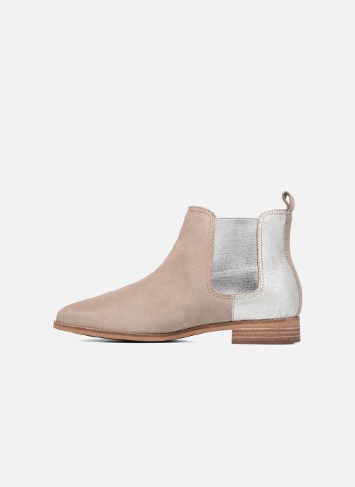 Bottines et boots TOMS Ella Beige vue face