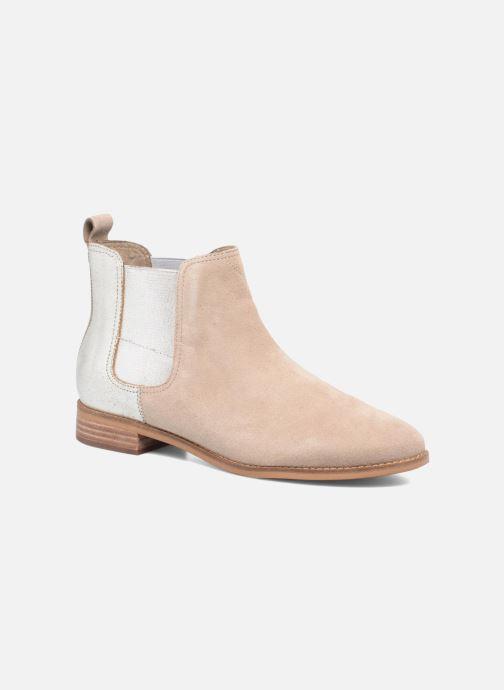 Bottines et boots TOMS Ella Beige vue détail/paire