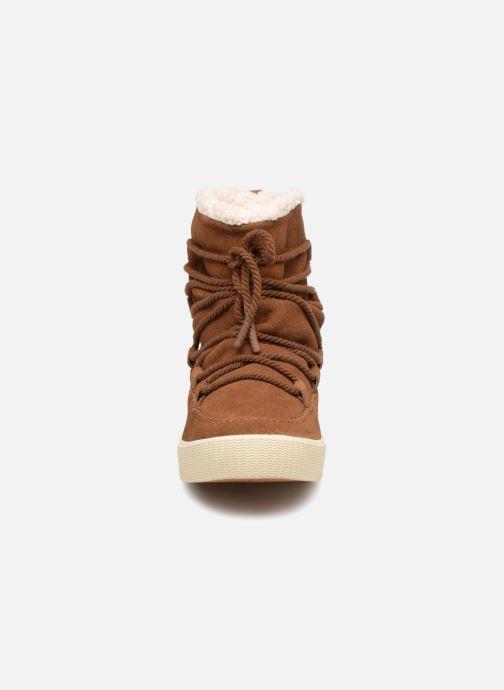 Bottines et boots TOMS Alpine Marron vue portées chaussures