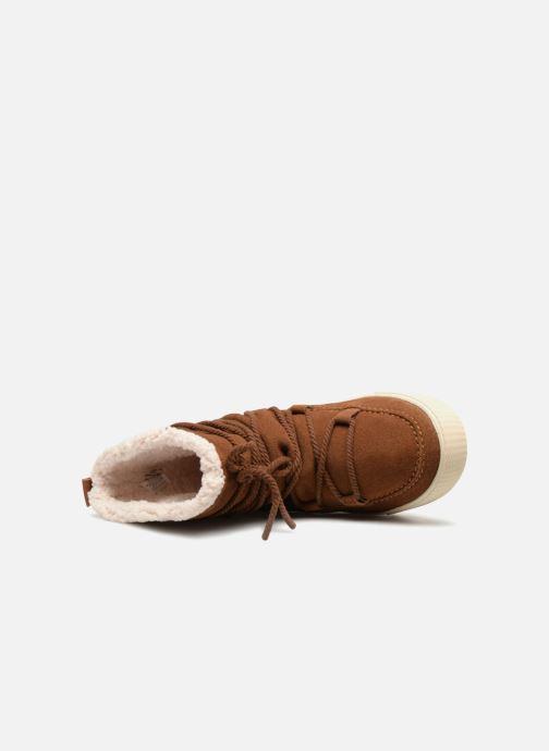 Bottines et boots TOMS Alpine Marron vue gauche