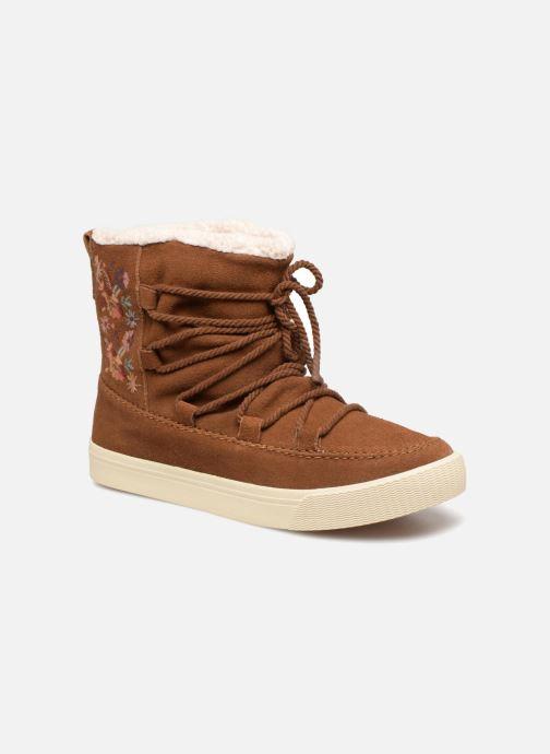 Bottines et boots TOMS Alpine Marron vue détail/paire