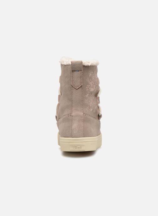 Bottines et boots TOMS Alpine Gris vue droite