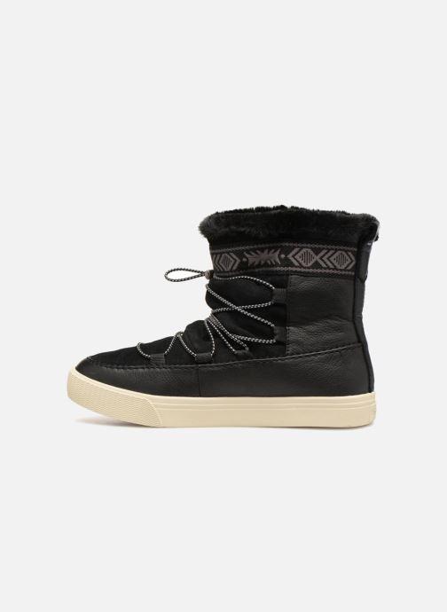 Bottines et boots TOMS Alpine Noir vue face