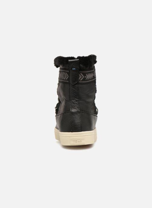 Bottines et boots TOMS Alpine Noir vue droite