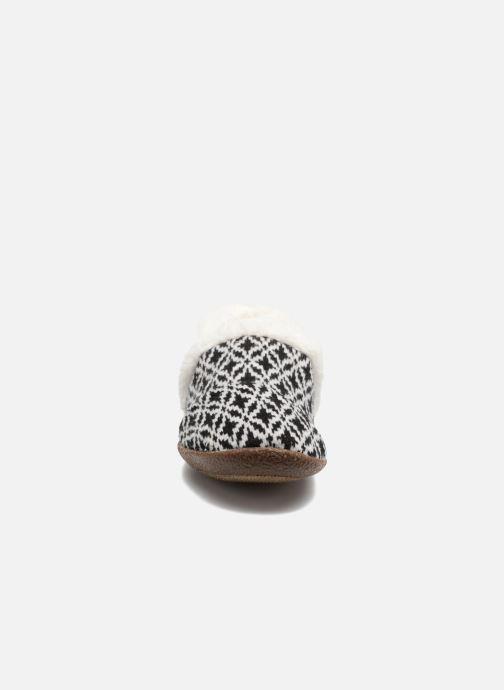 Chaussons TOMS Slipper Noir vue portées chaussures