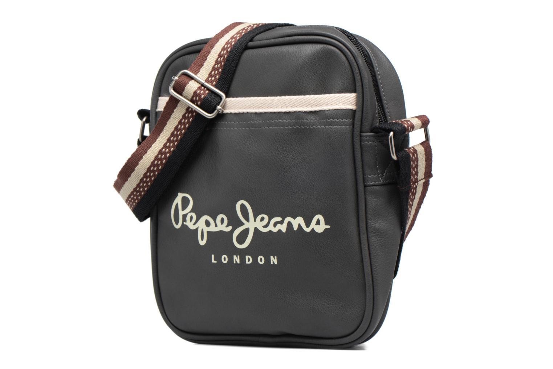 Sacs homme Pepe jeans CORCK Bag Noir vue portées chaussures