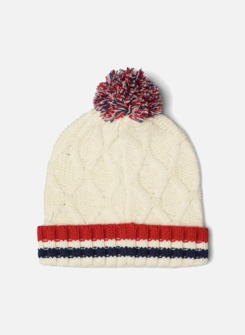 Beanie Pepe jeans ODDA Hat White model view