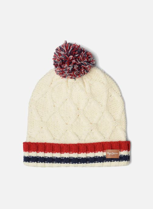 Beanie Pepe jeans ODDA Hat White detailed view/ Pair view