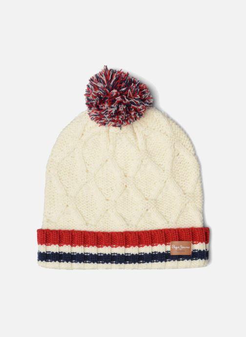 Bonnets Pepe jeans ODDA Hat Blanc vue détail/paire