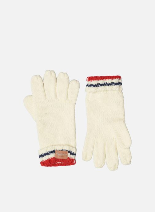 Handsker Pepe jeans ODDA Gloves Hvid detaljeret billede af skoene