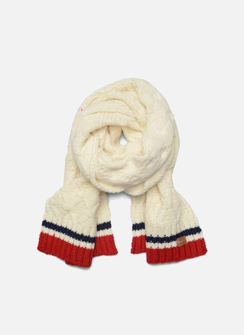 Scarf Pepe jeans ODDA Scarf 200x30 White detailed view/ Pair view