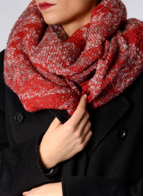 Echarpes et Foulards Pepe jeans TAMECA Scarf 180x60 Rouge vue haut