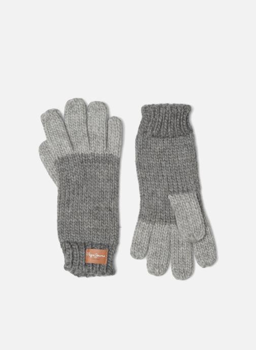 Gants Pepe jeans MARGE Gloves Gris vue détail/paire