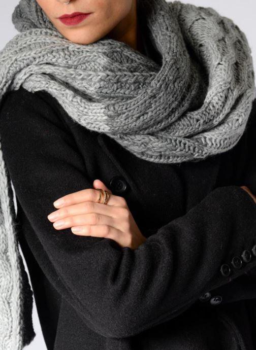Halsduk och scarf Pepe jeans MARGE Scarf 200x55 Grå bild från ovan