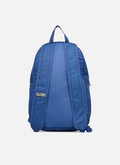Mochilas Puma Phase Backpack Azul vista de frente