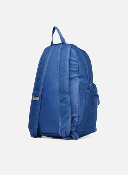 Mochilas Puma Phase Backpack Azul vista lateral derecha