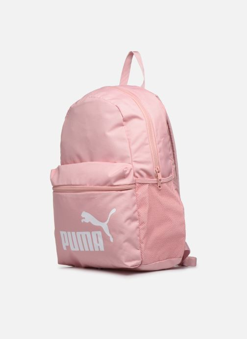 Zaini Puma Phase Backpack Rosa modello indossato