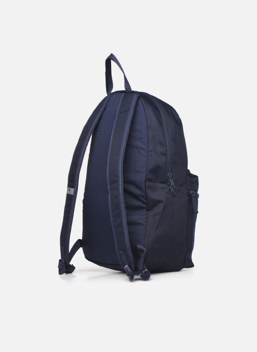 Mochilas Puma Phase Backpack Azul vista lateral derecha