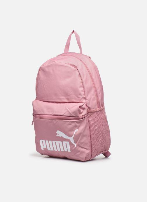 Mochilas Puma Phase Backpack Rosa vista del modelo
