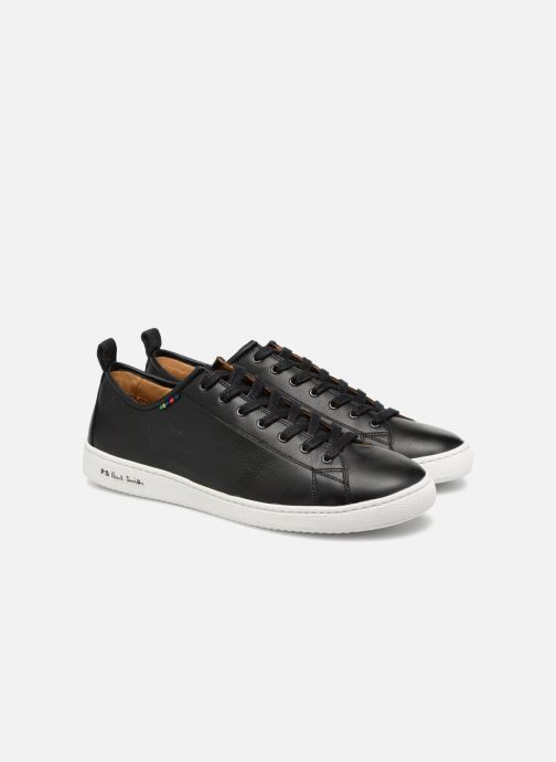 Baskets PS Paul Smith Miyata Noir vue 3/4