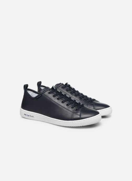 Baskets PS Paul Smith Miyata Bleu vue 3/4