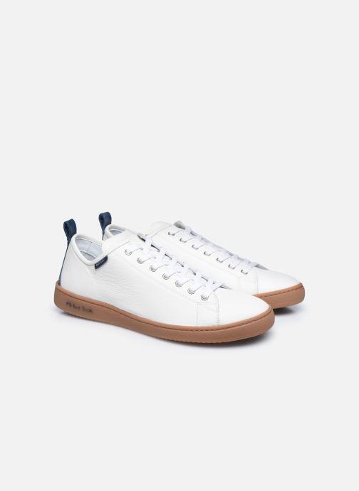 Baskets PS Paul Smith Miyata Blanc vue 3/4