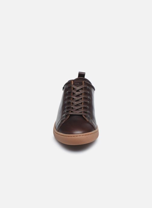 Baskets PS Paul Smith Miyata Marron vue portées chaussures