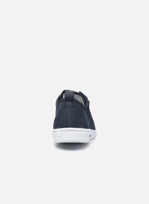 Baskets PS Paul Smith Miyata Bleu vue droite