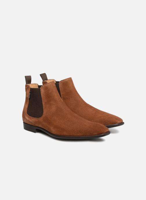 Bottines et boots PS Paul Smith Falconer Marron vue 3/4