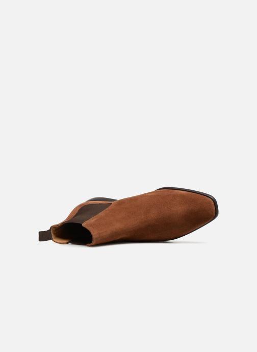 Bottines et boots PS Paul Smith Falconer Marron vue gauche