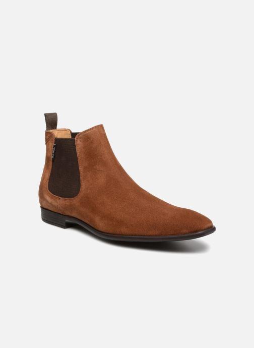 Bottines et boots PS Paul Smith Falconer Marron vue détail/paire